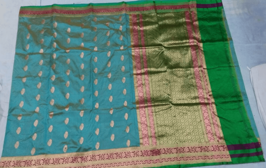 Pure Katan Silk Saree