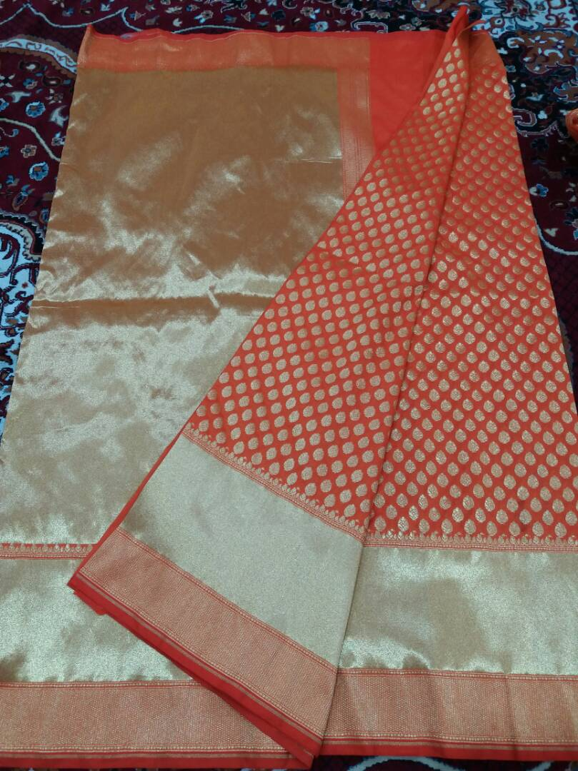 Georgette Silk Saree