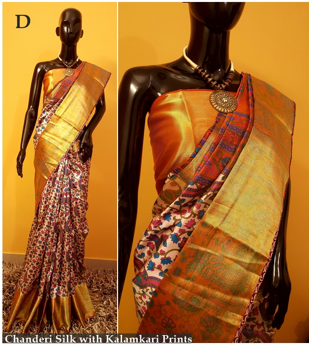 Chanderi Silk Sare
